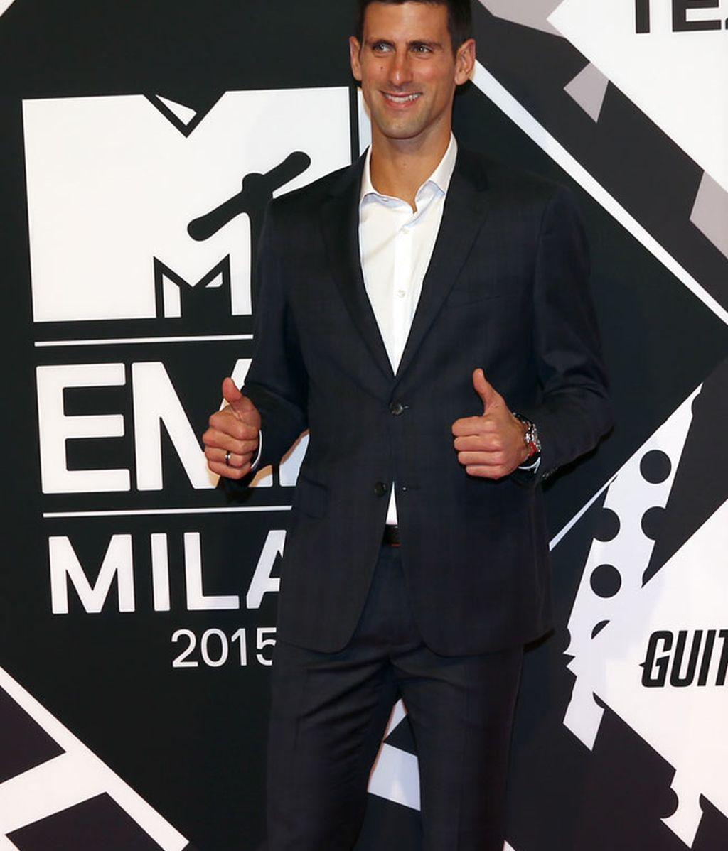 Novak Djokovic no se quiso perder este evento