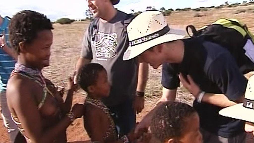 Los bushman reciben a los Molina Hererra