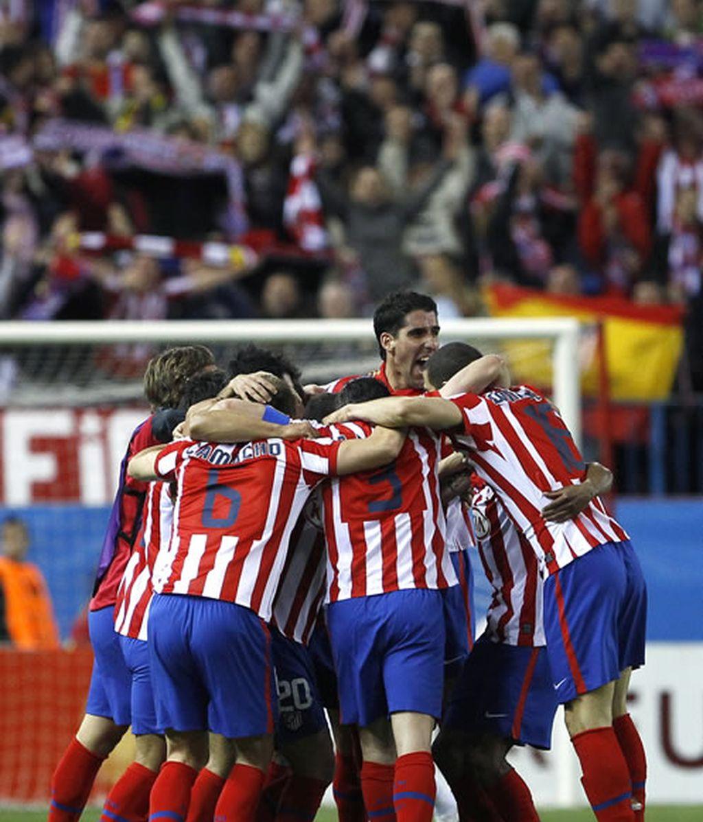 El Atlético se clasifica para semifinales