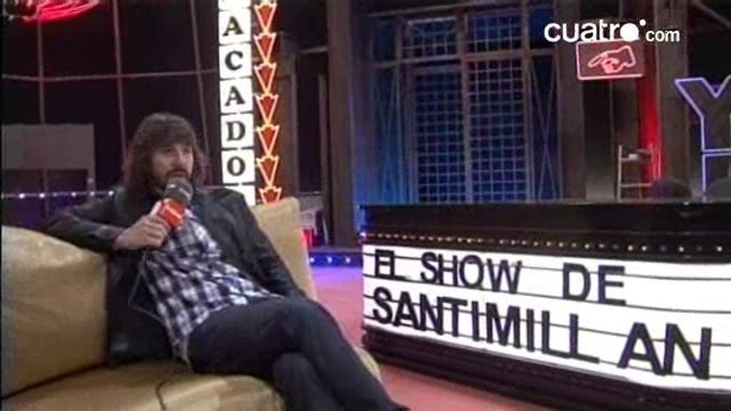 EXCLUSIVA: entrevista con Santi Millán antes del estreno de UAU!