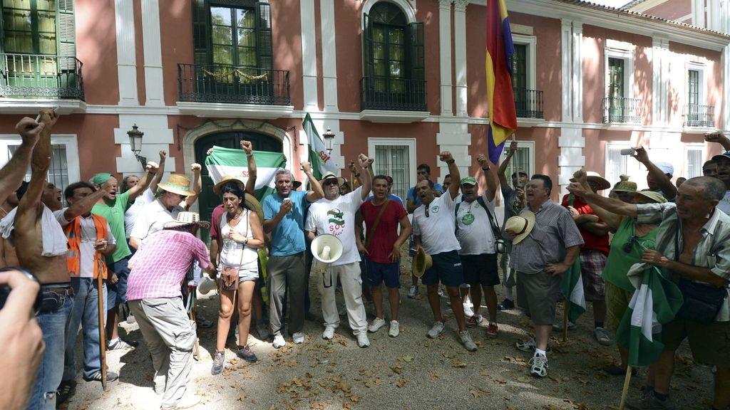 El sindicato de Gordillo ocupa una finca en Córdoba