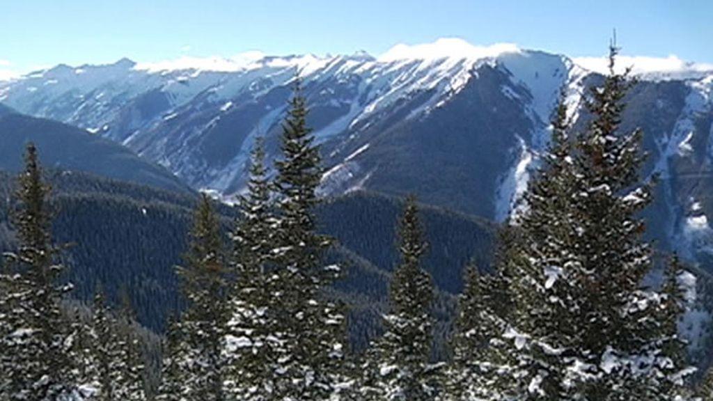 Aspen tiene una de las postales invernales más bellas