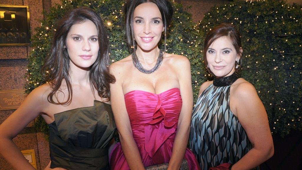 La actriz Lidia San José, María José Besora y Lola Bayo