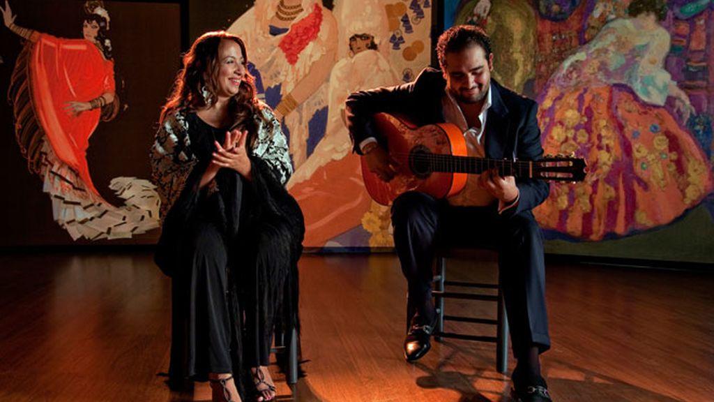 Farruquito, su hermano y Sara Baras bailan en Flamenco