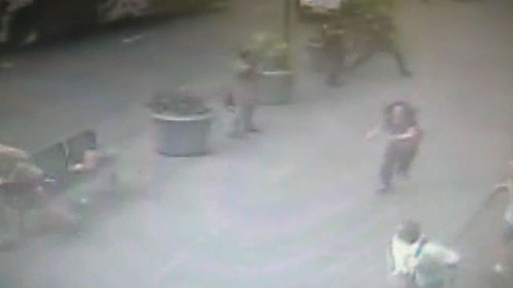 Imágenes del tiroteo junto al Empire State