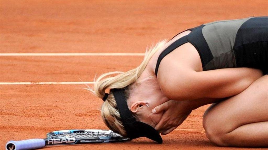 Sharapova reina en París