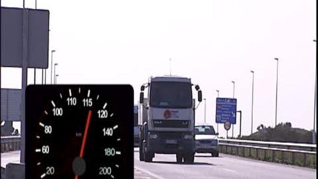 Multas a partir de 116 km/h