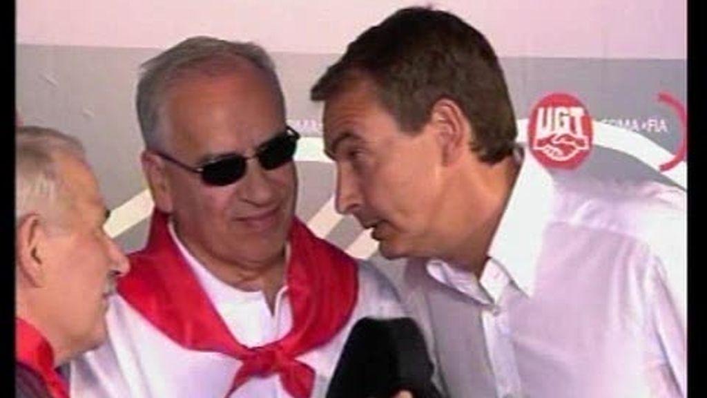 Zapatero, vetado en la fiesta minera de UGT