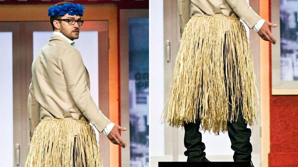 Justin Timberlake y su 'hula'