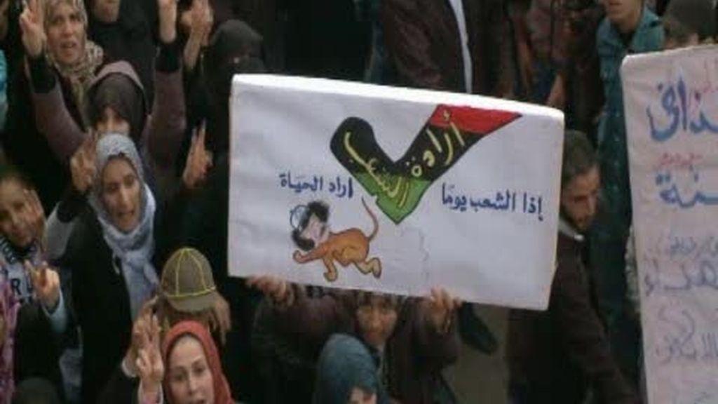 Gadafi, atrincherado