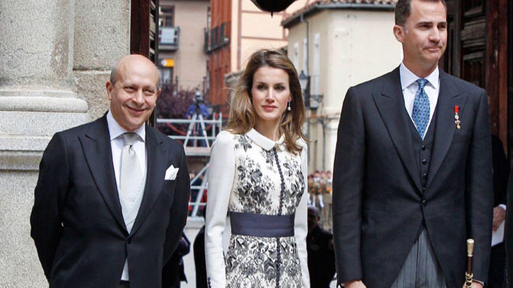 Los príncipes de Asturias presiden la entrega del Premio Cervantes