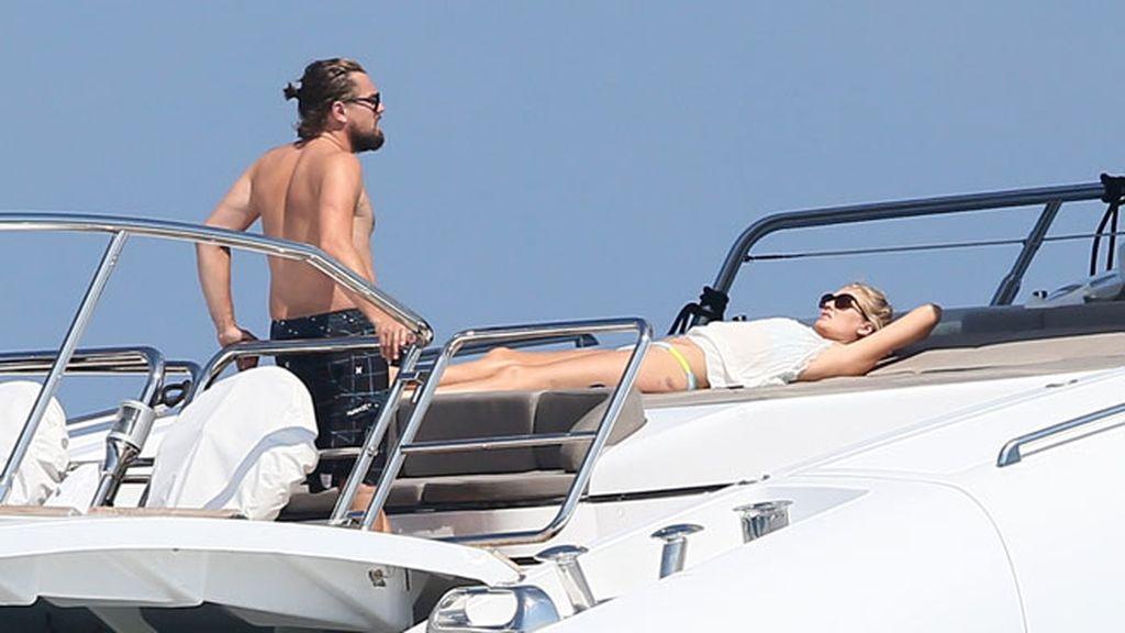 Leo DiCaprio, en Saint Tropez