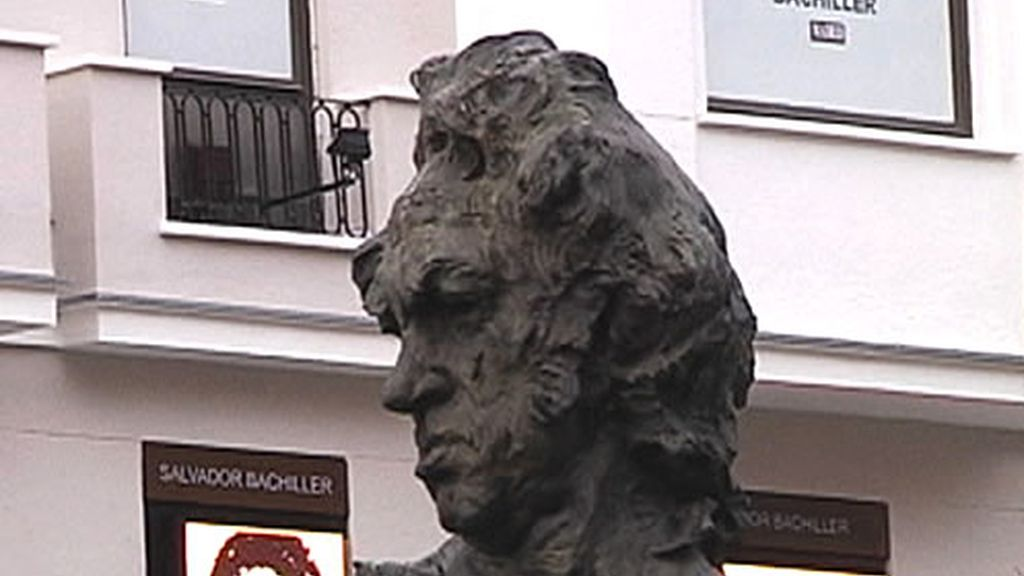 Busto de Francisco de Goya