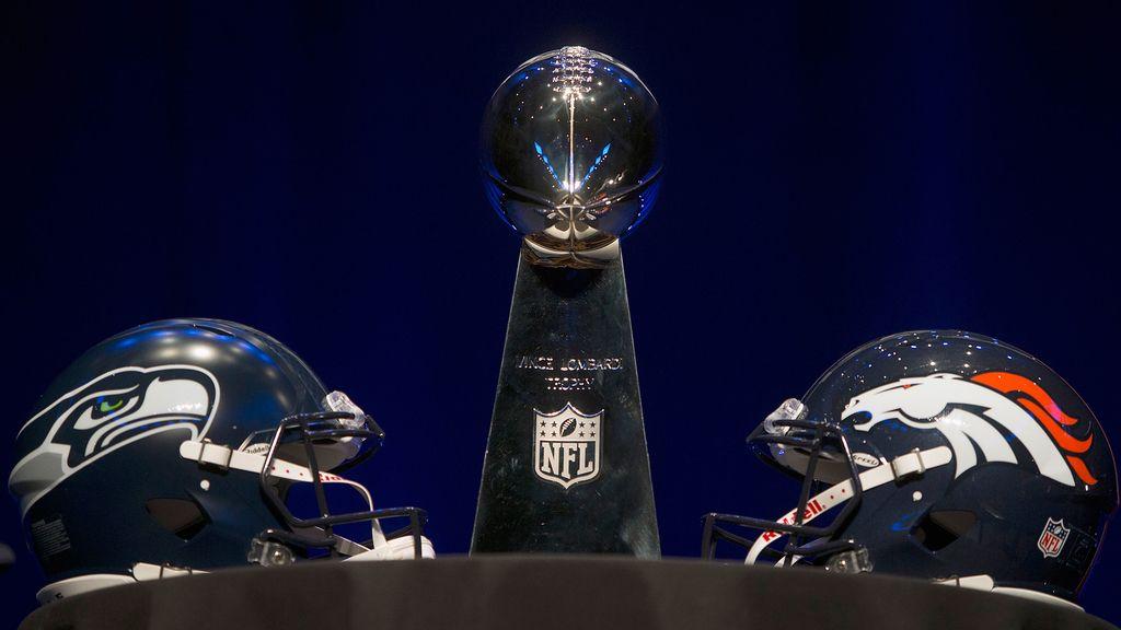 El trofeo de la 'Super Bowl'