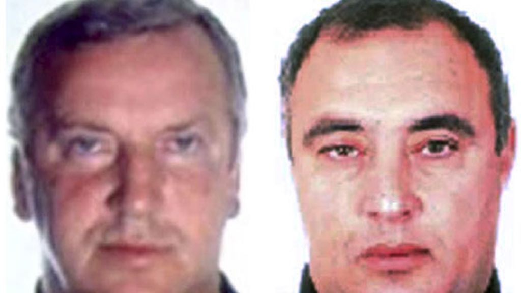 Los mafiosos rusos Gennadios Petrov (izda), y Vitali Idrilov (dcha)