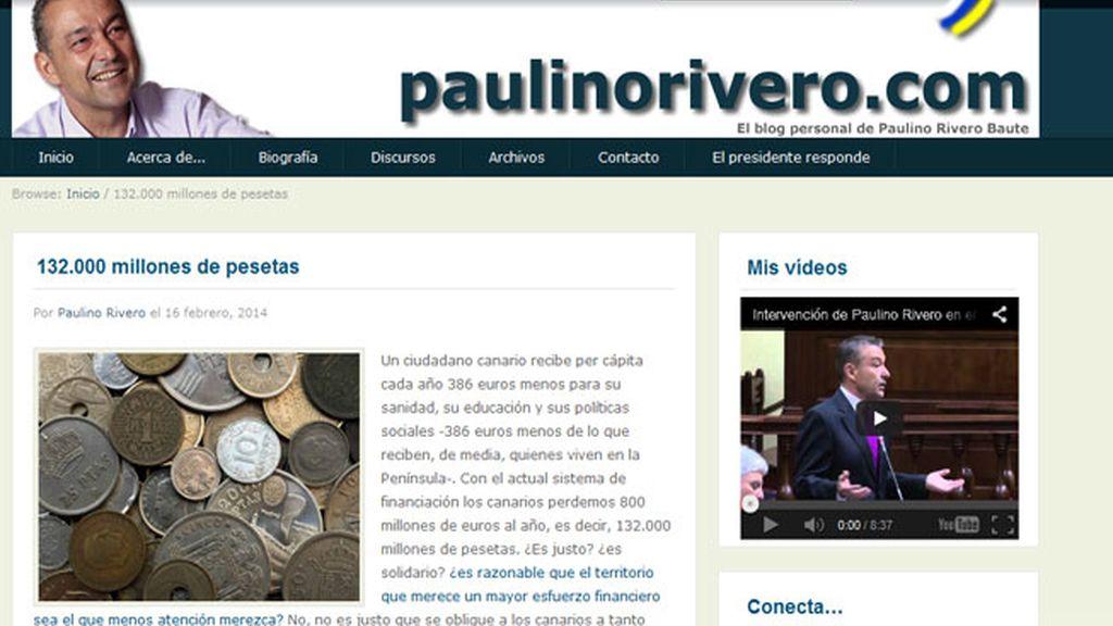 Blog de Paulino Rivero