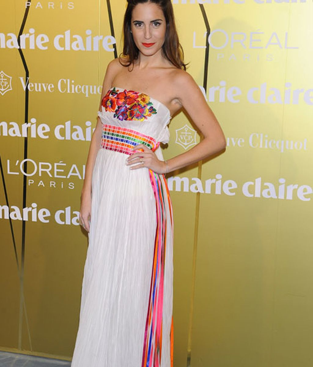 Gala González eligió un vestido de Alberta Ferretti