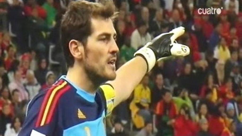 Los gritos de Iker Casillas
