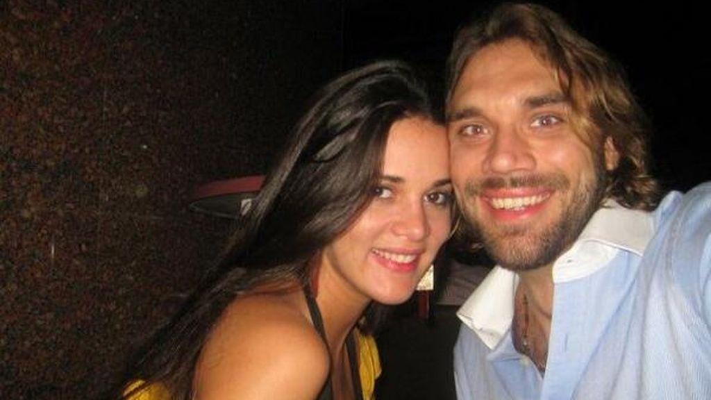 Mónica Spear y su marido