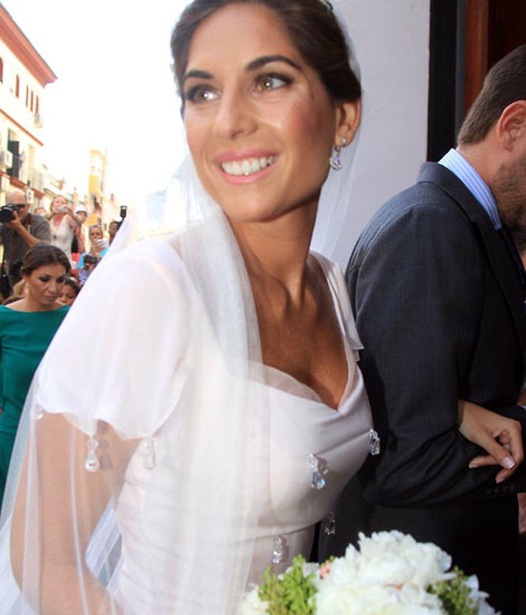 La novia se ha mostrado radiante en su día