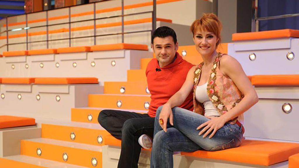 Iñaki López y Marina Lozano en los crono-asientos