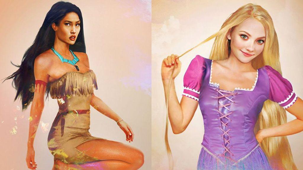 ¿Cómo serían las princesas Disney si fueran de carne y hueso?