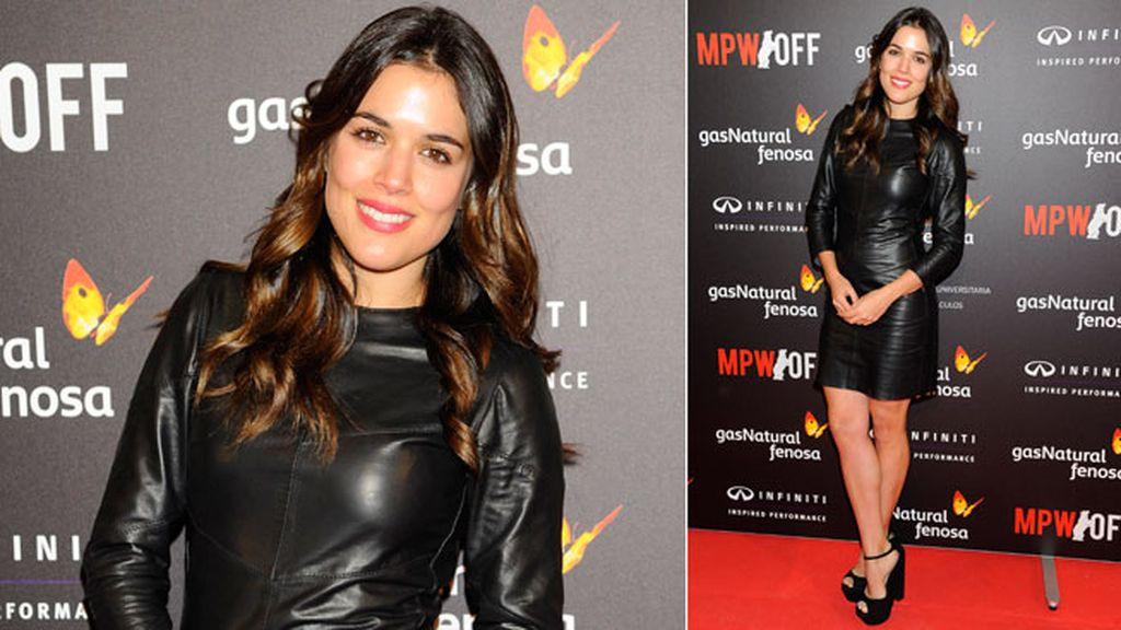 Adriana Ugarte ha llevado un minivestido de manga larga