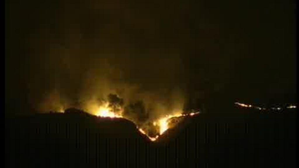 Incendio en Navarra