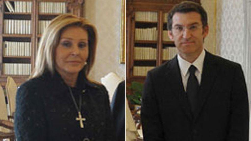 Carmen Gamir, pareja de Alberto Núñez Feijóo, es secretaria de Estado de Presupuestos