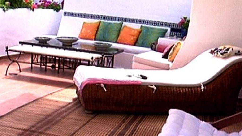 La terraza de Carmen Lomana