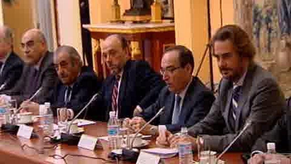 Zapatero se reúne con los empresarios