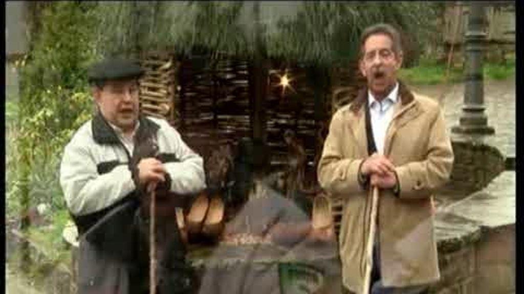 Los políticos felicitan la Navidad cantando villancicos