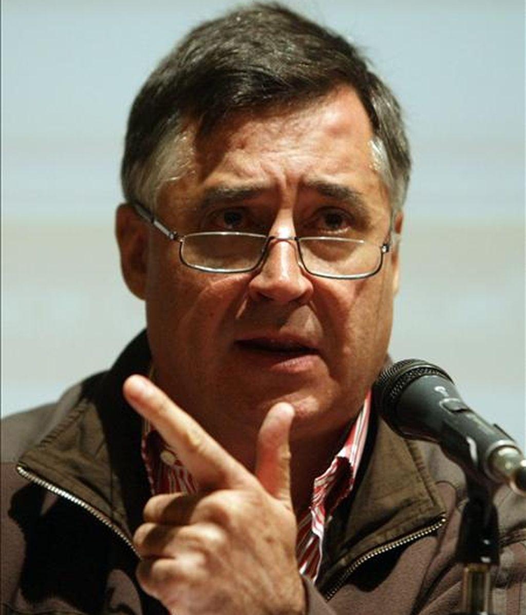El periodista de guerra español Gervasio Sánchez. EFE/Archivo