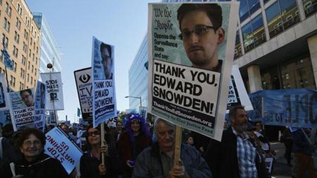 """Snowden: """"Los llamamientos al cambio justifican las filtraciones"""""""