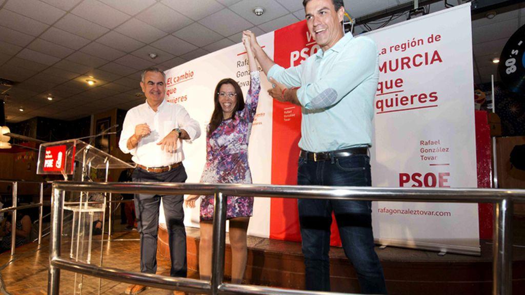 Mitin de Pedro Sánchez en Cartagena