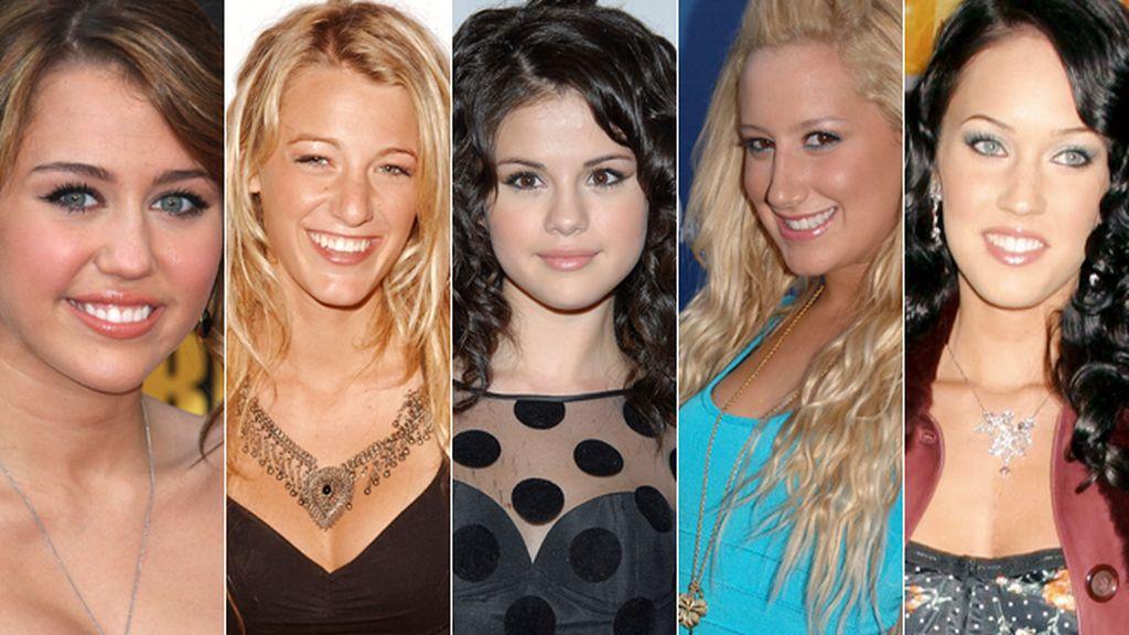 Estas juveniles caras podrían delatar a nuestra famosas