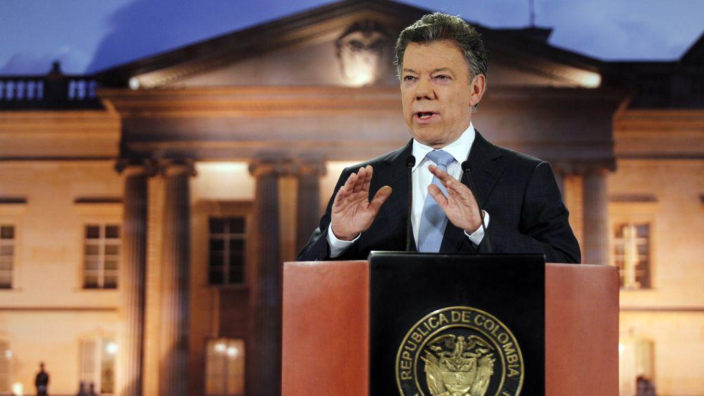 Juan Manuel Santos confirma conversaciones con las FARC