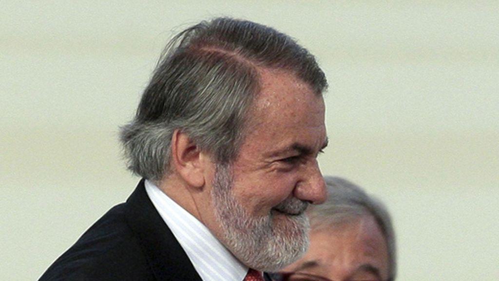 Mayor Oreja durante el Congreso del Partido Popular. Foto: EFE