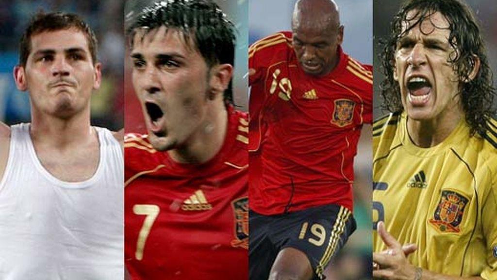 Casillas, Villa, Senna y Puyol, entre los mejores. Foto: InformativosTelecinco.com