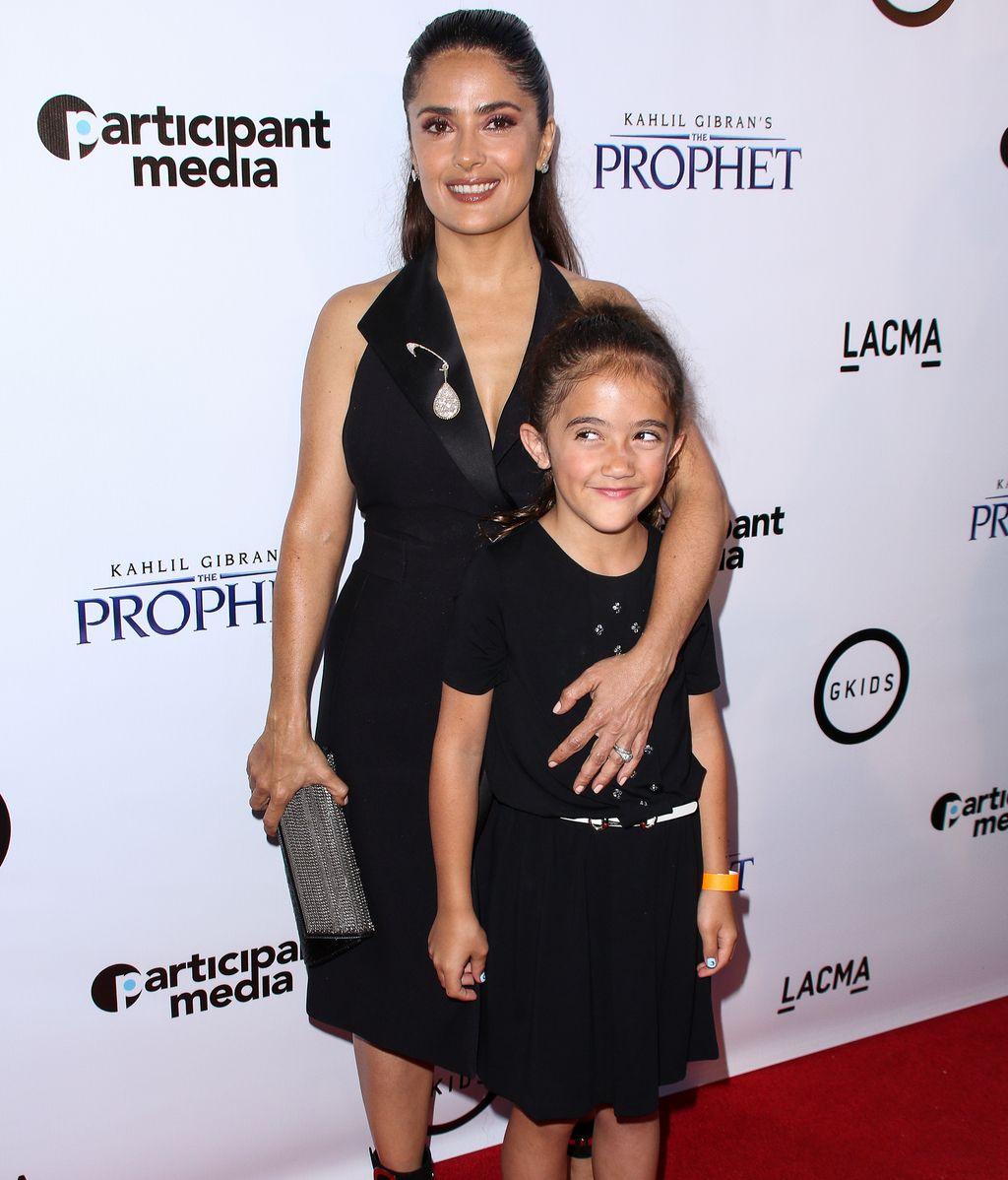 Salma Hayek y su hija Valentina Paloma en una imagen de archivo
