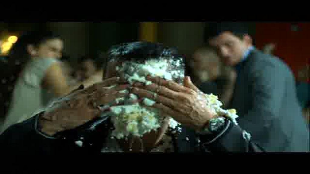 ¿Quién la da un tartazo a Jesús Vázquez?