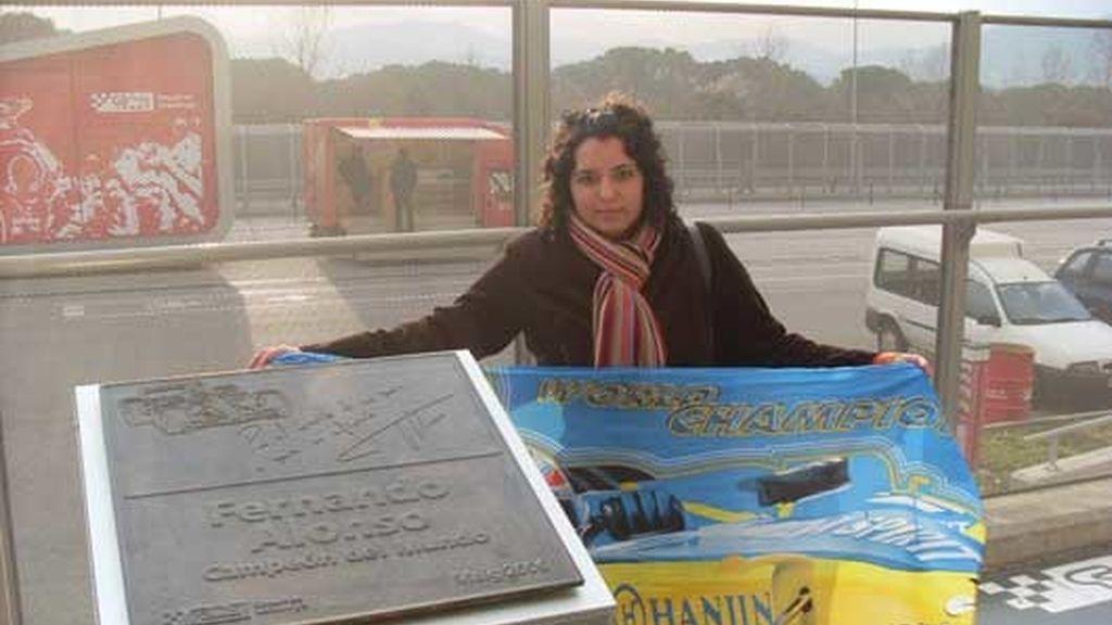 Homenaje a Alonso en Montemeló
