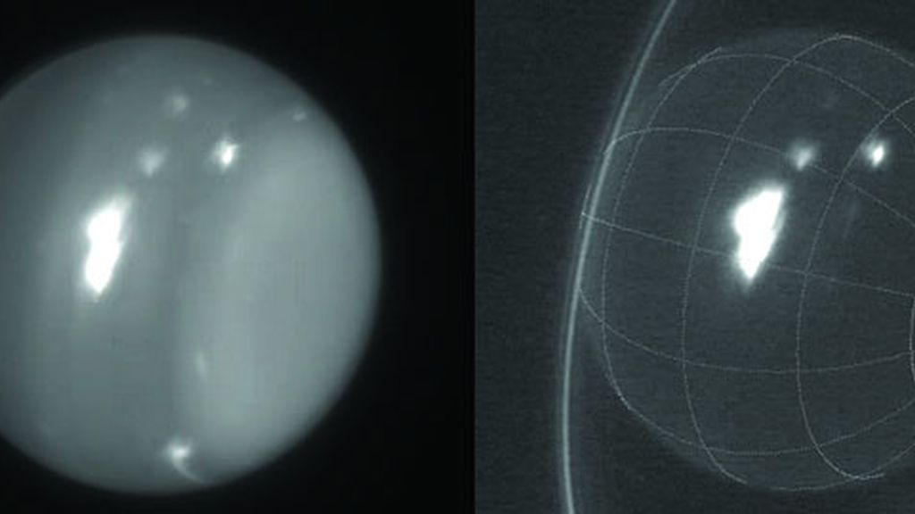 Las tormentas de Urano