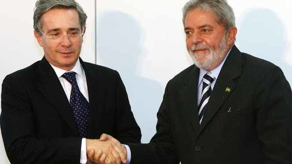 Uribe y Lula