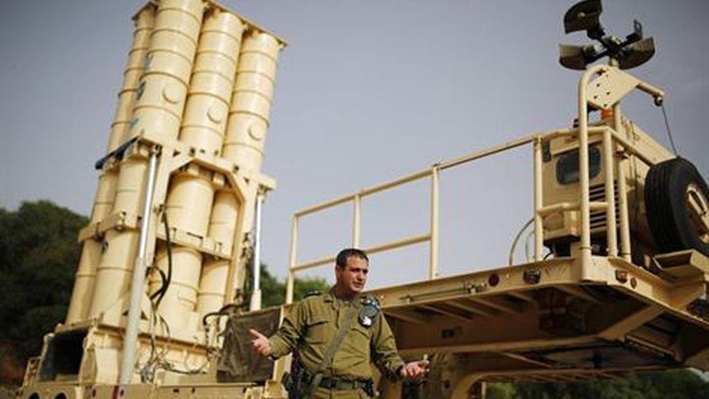 Israel despliega una batería del sistema 'Cúpula de Hierro' en Haifa