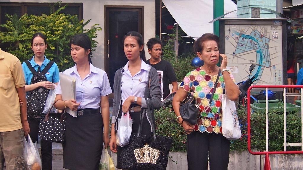 Mujeres inesperadas en las calles de Bangkok