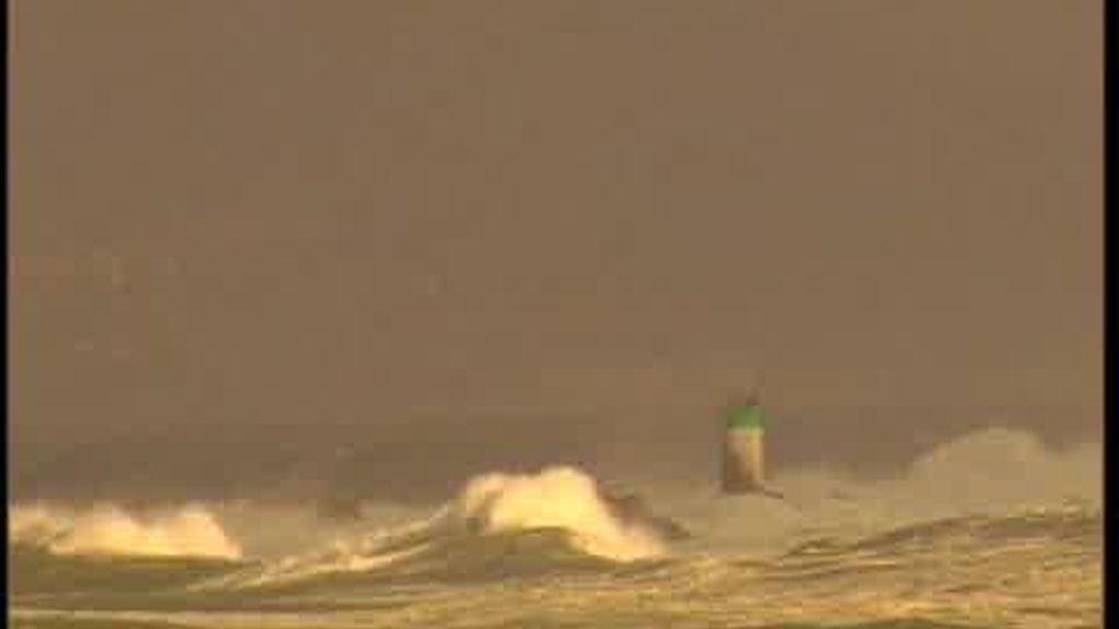 El temporal sigue azotando a Galicia