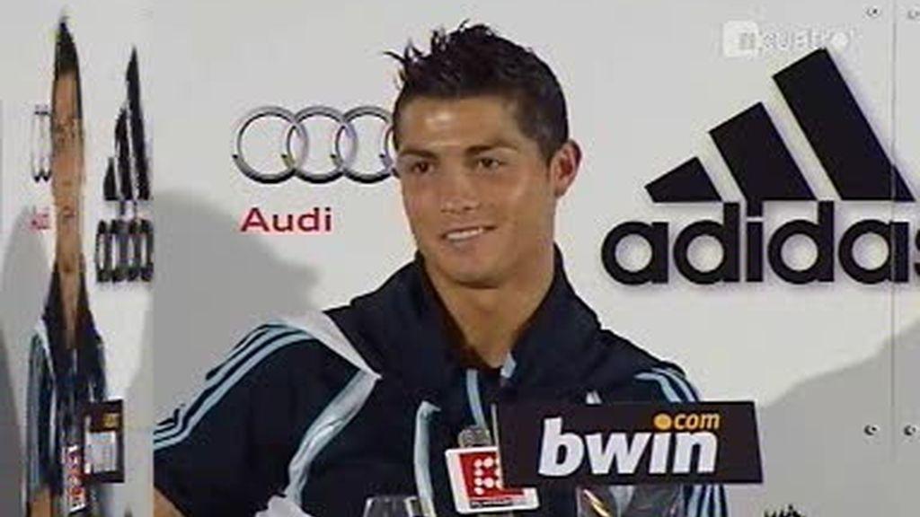 """Cristiano Ronaldo: """"No sé que es un galáctico"""""""