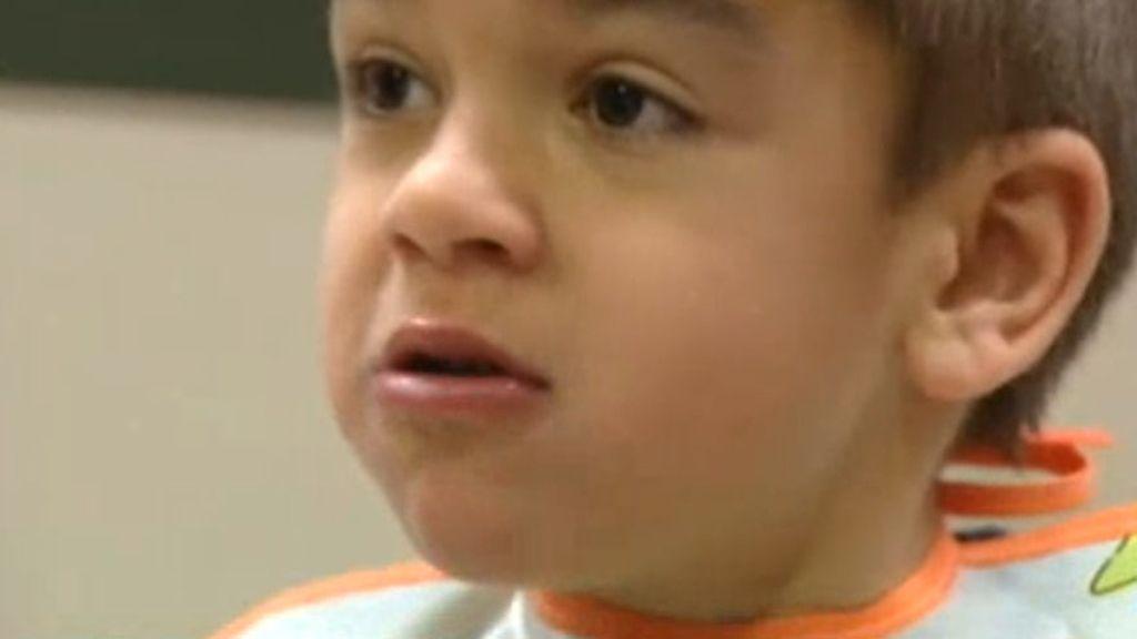 Daniel padece el síndrome de Sanfilippo