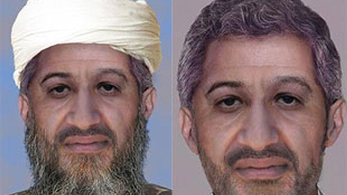 El FBI difunde fotografías de un envejecido Bin Laden.